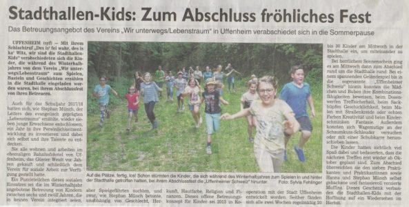 2018-05_Fraenkische-Landeszeitung-Lebenstraum-Uffenheim